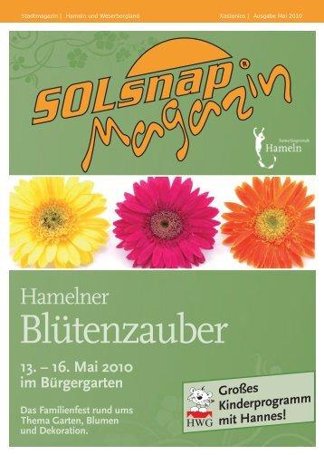 16. Mai 2010 im Bürgergarten - Wir knipsen durch die Nacht!
