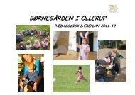 pædagogisk læreplan 2011-12 - Børnegården i Ollerup