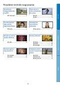Sony HDR-CX500E - HDR-CX500E Consignes d'utilisation Polonais - Page 6