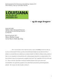 Louisiana- og de unge brugere