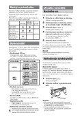 Sony CDX-GT225C - CDX-GT225C Mode d'emploi Slovénien - Page 4