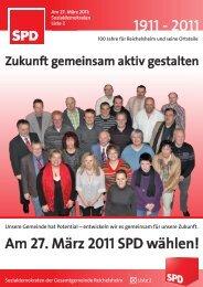 Wahlprogramm SPD Reichelsheim