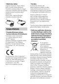 Sony ILCE-6300Z - ILCE-6300Z Mode d'emploi Lituanien - Page 4