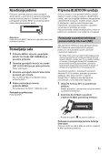 Sony MEX-N4100BT - MEX-N4100BT Consignes d'utilisation Croate - Page 7