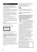 Sony CMT-SBT20B - CMT-SBT20B Consignes d'utilisation Finlandais - Page 2