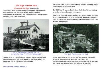 - Buch Burg-Haus - Villa Hügel - Großes Haus - bredeney