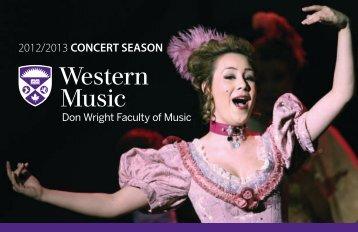 12:30 Fridays - University of Western Ontario Faculty of Music
