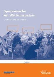 Spurensuche im Wittumspalais - Klassik Stiftung Weimar
