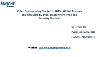 Global Video Conferencing Market to 2025