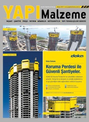 Yapı Malzeme Dergisi Mayıs 2017 Sayısı