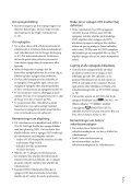 Sony HDR-CX350VE - HDR-CX350VE Consignes d'utilisation Danois - Page 3