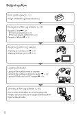 Sony HDR-CX350VE - HDR-CX350VE Consignes d'utilisation Danois - Page 6