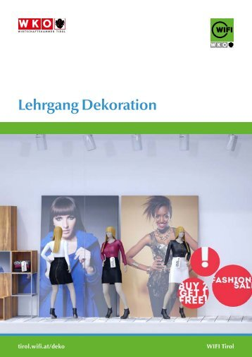 Lehrgang Dekoration