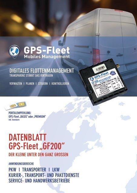 Datenblatt GF200