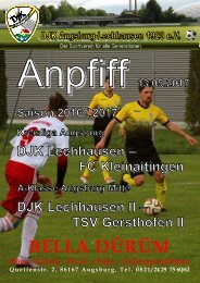 Anpfiff_2017-05-13 - DJK Lechhausen
