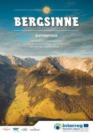 Bergsinne - Klettersteige zwischen Tirol und Bayern