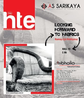 International Home Textile Magazine – May'17