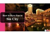 Las Vegas Escorts   Sin City Experience