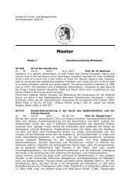 Master - Institut für Kunst - HU Berlin