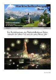 Markt - Tourismusverein Marktschellenberg e.V.