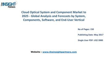 Cloud Optical System and Component Market Growth, Trends, Industry Analysis and Forecast to 2025 |The Insight Partners