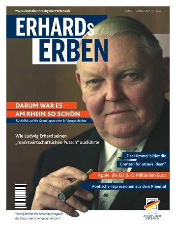 ERHARDs ERBEN Nr. 01/2016