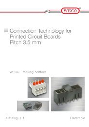 WECO - Connection Technology