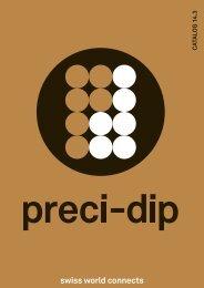 PreciDip Catalog