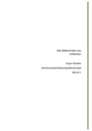 Alte Maltechniken neu entdecken_Nr_277_4MB - SIB
