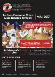 TBV Newsletter May 2017 Edition (Cymraeg)