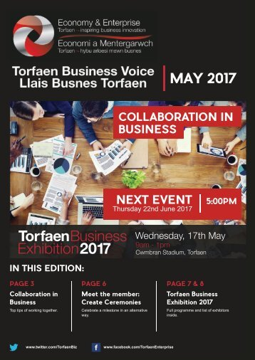 TBV Newsletter May 2017 Edition (English)
