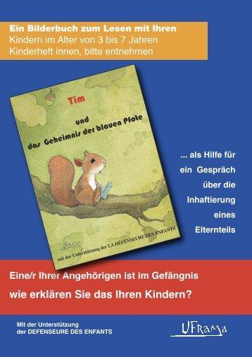 ALLEMAND - carnet parent - Tim et le mystère de la patte bleue pdf