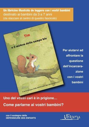 ITALIEN - carnet parent - Tim et le mystère de la patte bleue