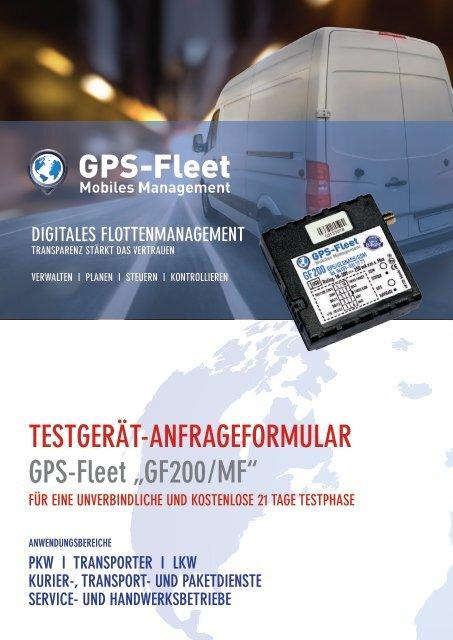 Testgerätantrag GF200