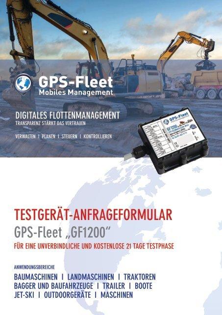 Testgerätantrag GF1200