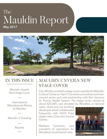 May 2017 Mauldin Report