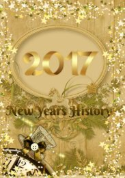 NEW YEAR HISTORY