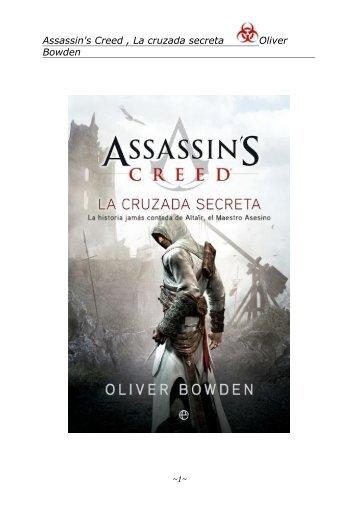 Assassins Creed The Secret Crusade Pdf