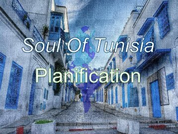 Planification Soul of Tunisia