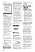 Sony KDL-46NX713 - KDL-46NX713 Mode d'emploi - Page 2
