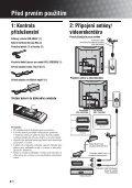 Sony KDL-15G2000 - KDL-15G2000 Istruzioni per l'uso Ceco - Page 4