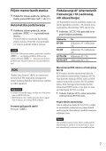 Sony CDX-GT574UI - CDX-GT574UI Mode d'emploi Serbe - Page 7