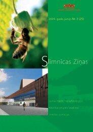 Slimnīcas Ziņas, jūnijs, 2009 - P. Stradiņa Klīniskā universitātes ...