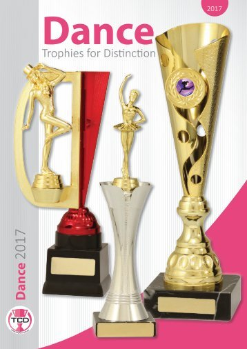 2017 Dance Trophies for Distinction