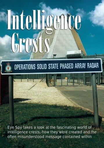 Intelligence Crests - Eye Spy Intelligence Magazine