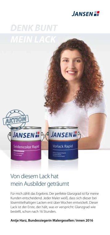 Jansen Seidencolor Rapid - 01.04. - 30.06.17