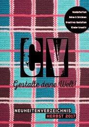 Christophorus Verlag Neuheitenverzeichnis Herbst 2017
