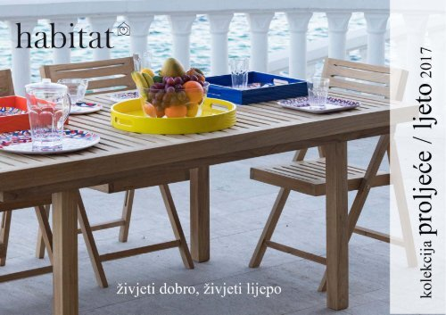 HABITAT katalog proljeće - ljeto 2017