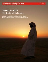 The GCC in 2020: The - Economist Intelligence Unit