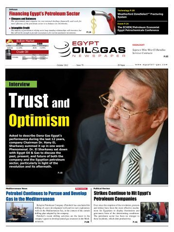 carbons 19 October Issue 70 - Egypt Oil & Gas